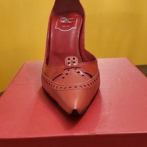 Roger Vivier Shoes - Roger Vivier Women's Red Pumps
